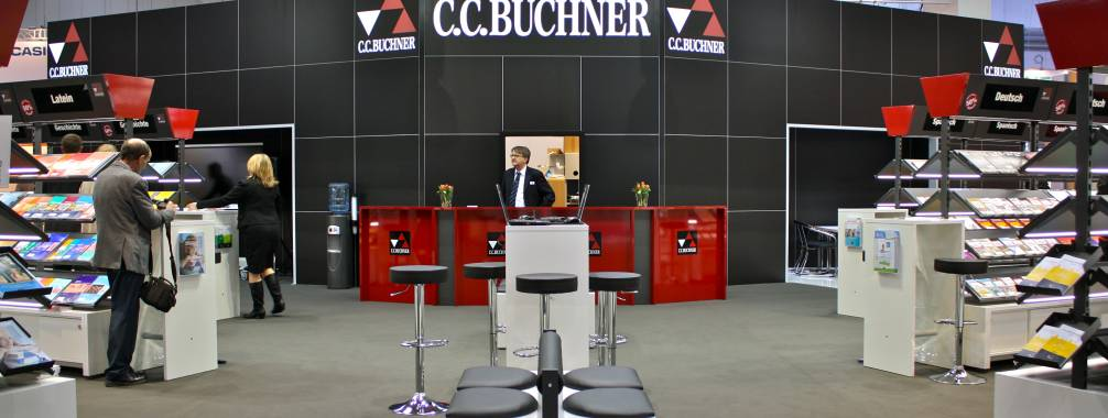 Bücher Messestand